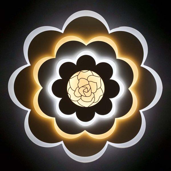 Люстра лед цветок светодиодный фото