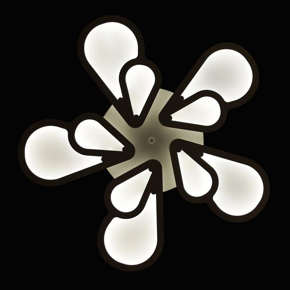 Люстра с пультом flavour-цветок фото
