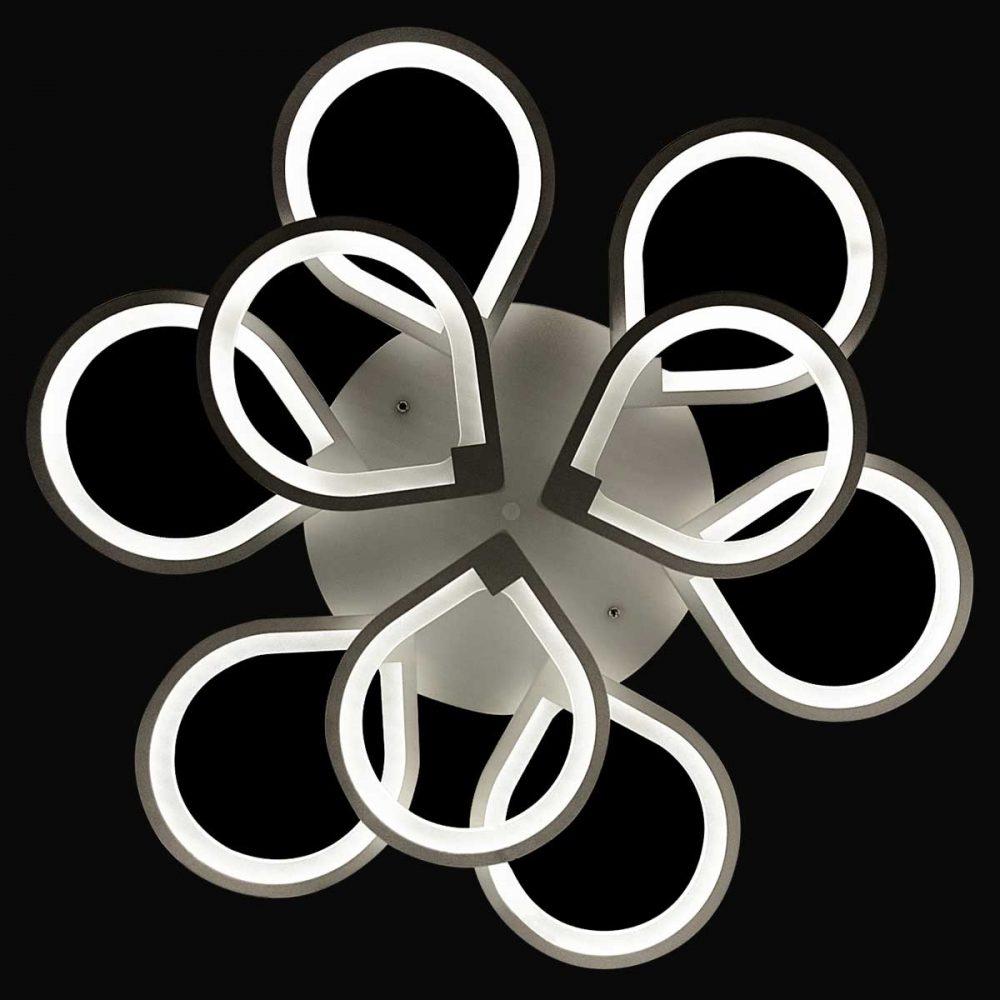 люстра светодиодная с пультом Leafs 2 (Листок) фото