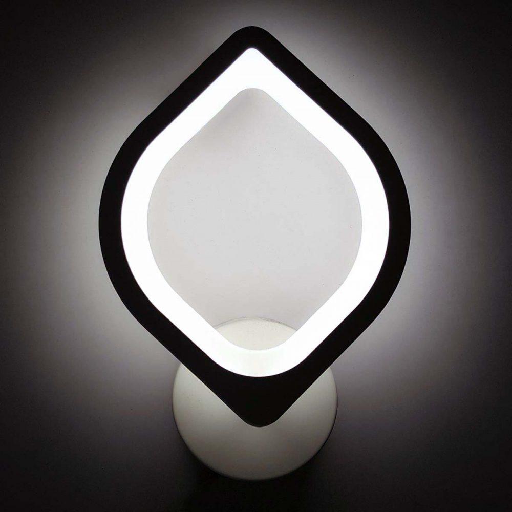 Настенный светодиодный бра в форме лепестка фото