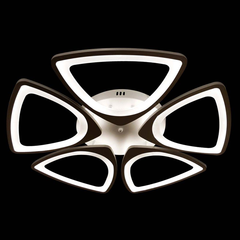 светодиодная люстра треугольная фото