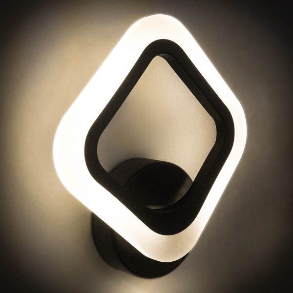 Бра светодиодный квадрат наружний свет фото