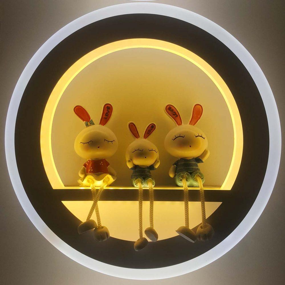 бра светодиодный с кроликами фото