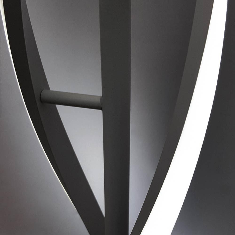 диодный дизайнерский напольный светильник фото