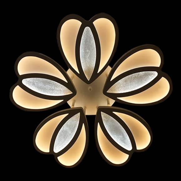 лед светильник цветок фото