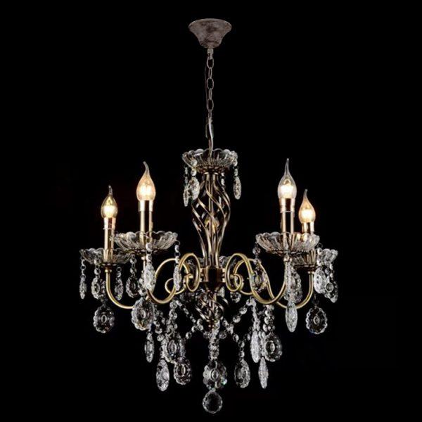 Люстра классическая подвесная Лазурит фото