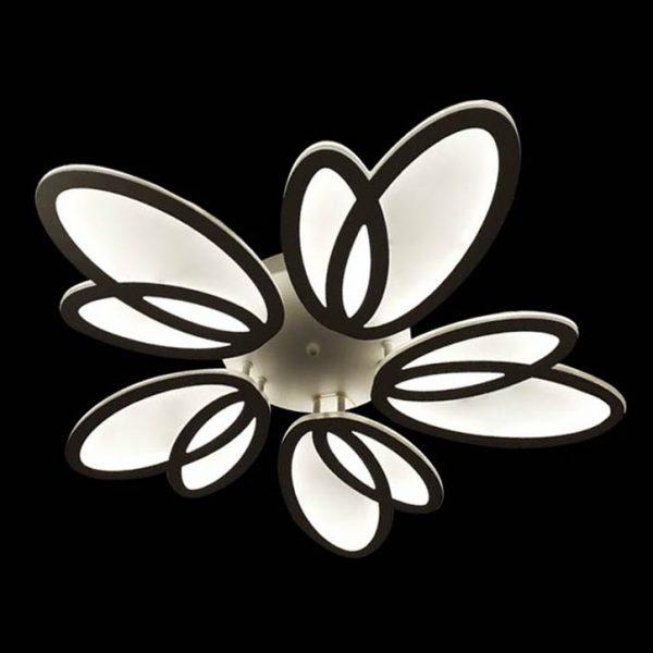 Люстра лед цветок с пультом фото