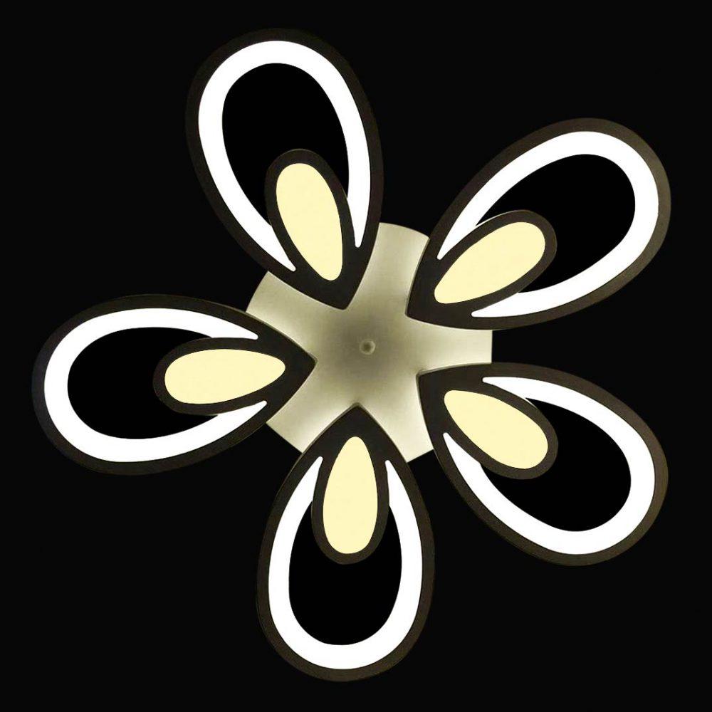 люстра на потолок в виде цветочка фото