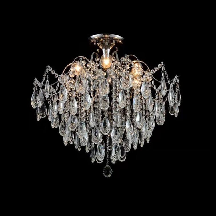 Классическая люстра для дома Crystal фото