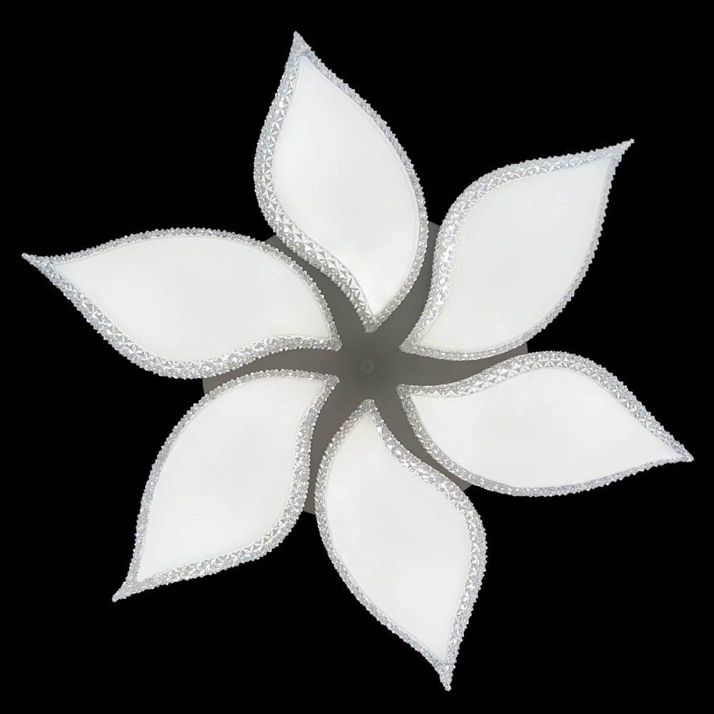 люстра с хрусталем на управлении pearl фото