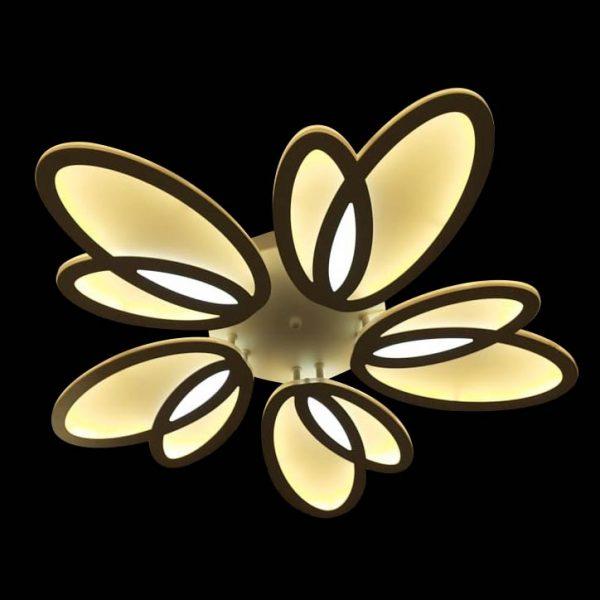 Люстра светодиодная потолочная в форме цветка Jasmine фото