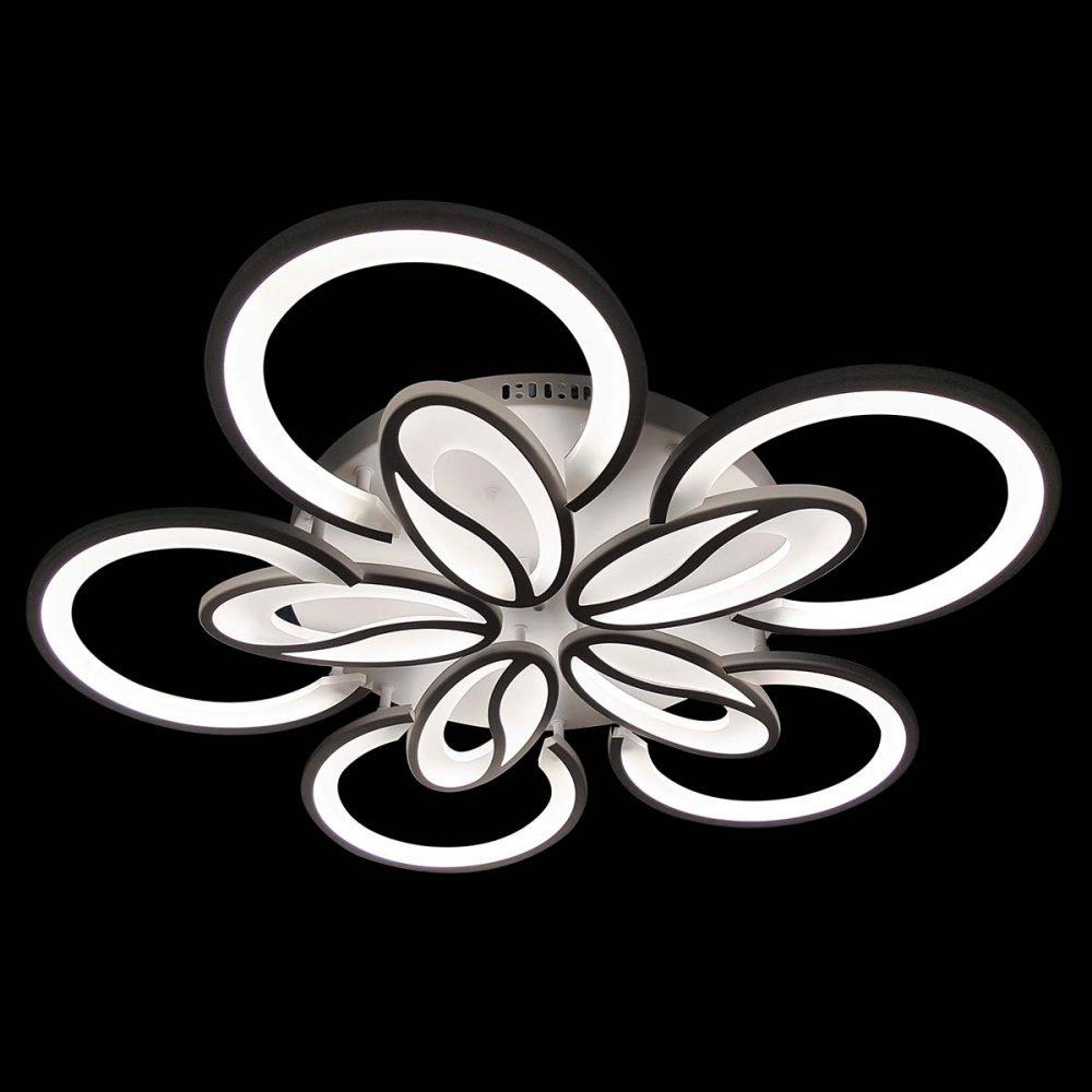 современная светодиодная люстра с пультом фото