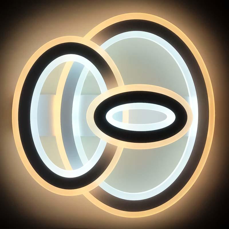 светодиодная люстра три овала Crups фото