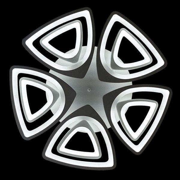 светодиодная треугольная люстра Triangles 10 фото