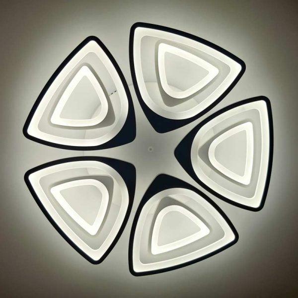 светодиодный люстра 10 треугольников фото