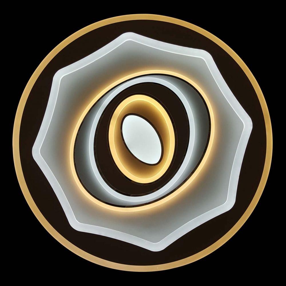 люстра со сменой цвета освещения фото