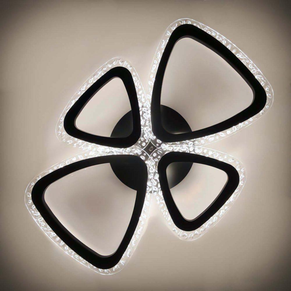 люстра треугольники с пультом фото