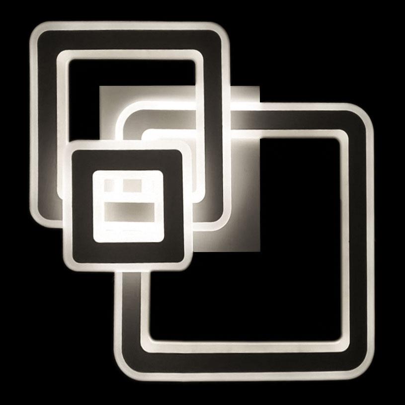 Люстра три квадрата фото