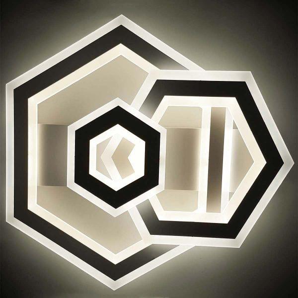 Люстра в форме геометрия LED фото