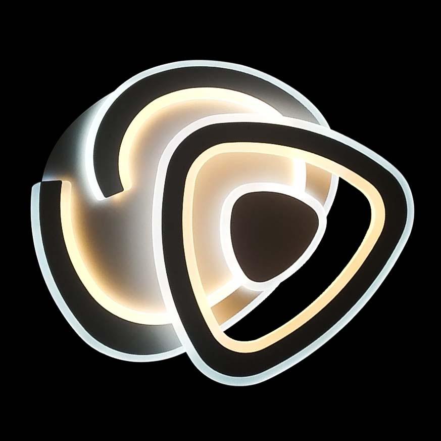 Потолочная светодиодная лед люстра Perfeus c димером фото