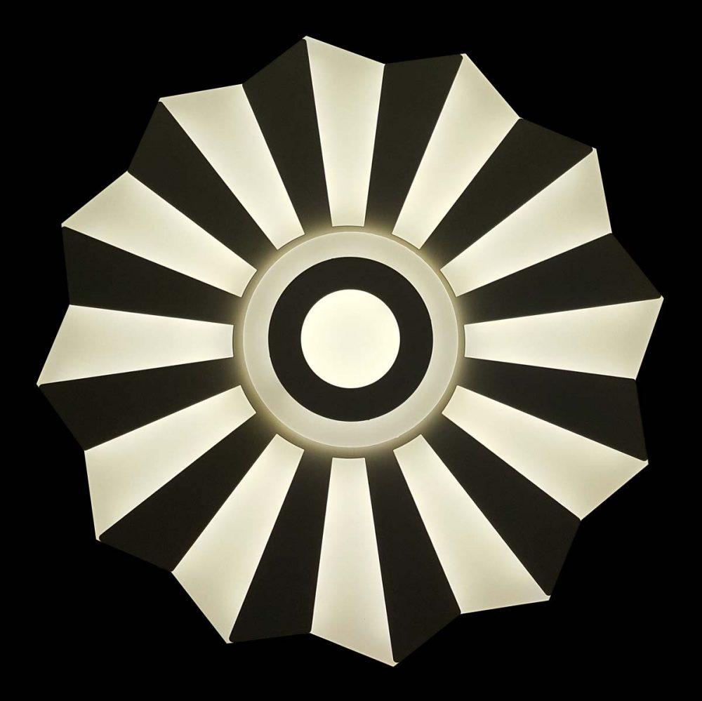 Современная светодиодная люстра с пультом Funless фото