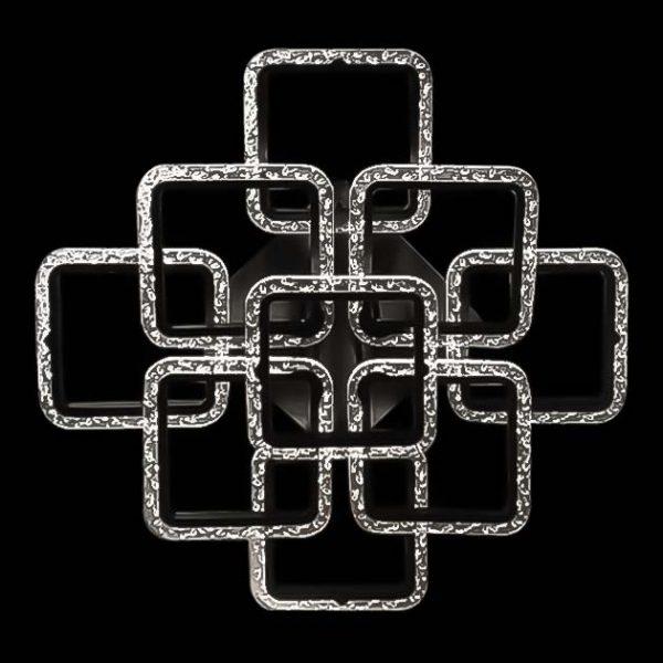 Светильник на потолок девять квадратов фото