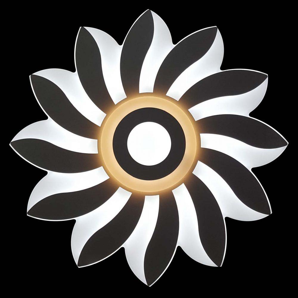 Светодиодная люстра цветок с настройкой яркости Astra фото