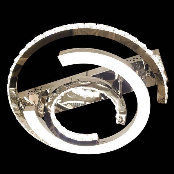 Зеркальная светодиодная люстра со сменой цвета Treasure фото