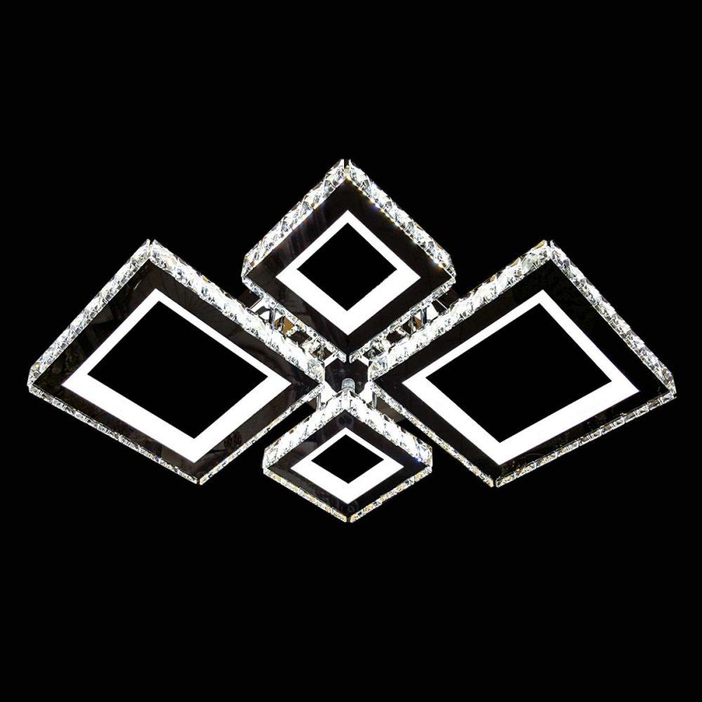 Crystal Square люстра квадратами фото