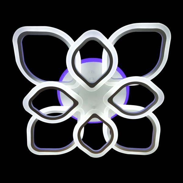 Люстра диодная лепестки Petals с RGB подсветкой фото