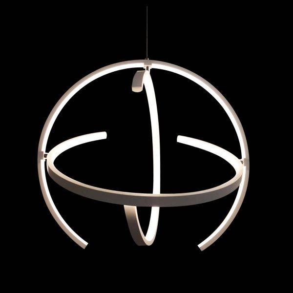 Люстра круглая подвесная светодиодная Bowl фото