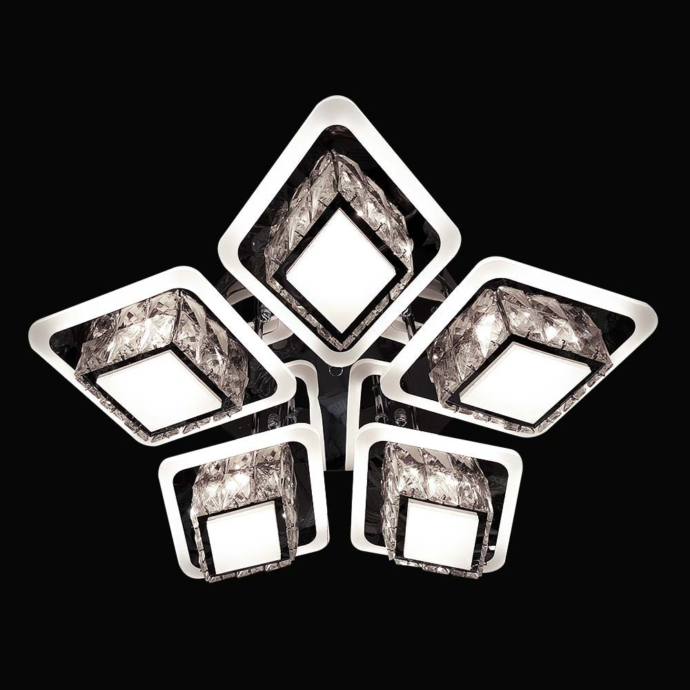 Люстра лед потолочная Crystalium 5902/5 фото