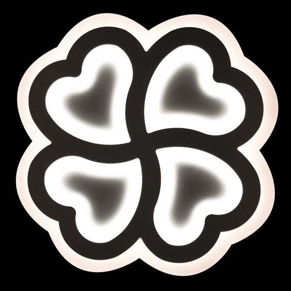 диодный потолочный светильник сердце фото