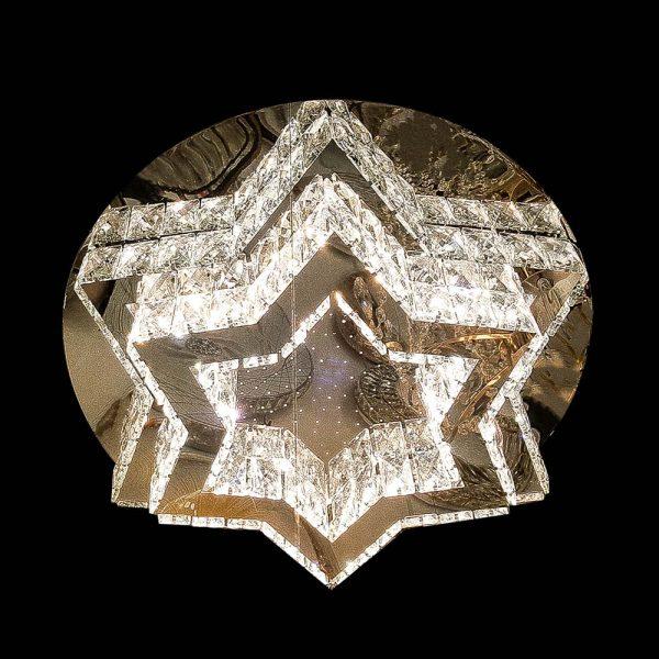 Лед люстра хрустальная звезда GlassStar фото