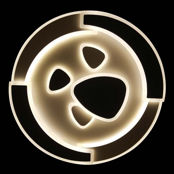 Люстра светодиодная круглая с пультом Stocks фото