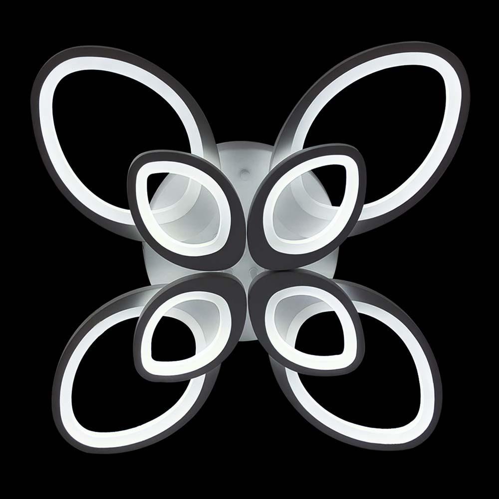 Люстра в форме цветка меняющая цвет фото
