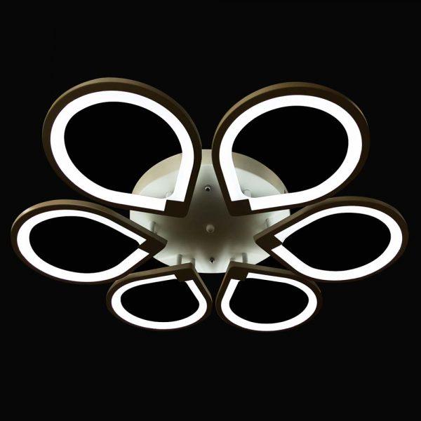 светодиодная люстра с пультом Spikes ajnj