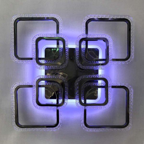 Лед квадраты с пультом светильник фото