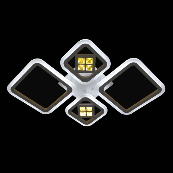 LED люстра потолочная ромбы CrossRomb фото
