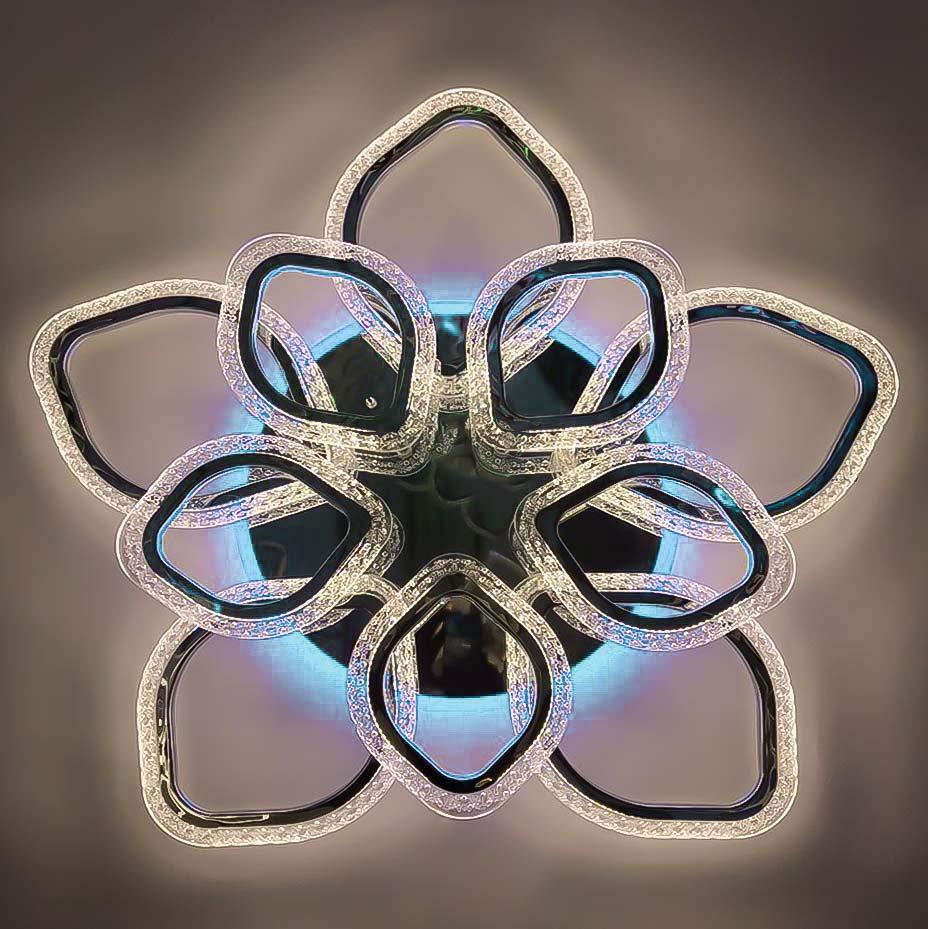Люстра petals черный фото