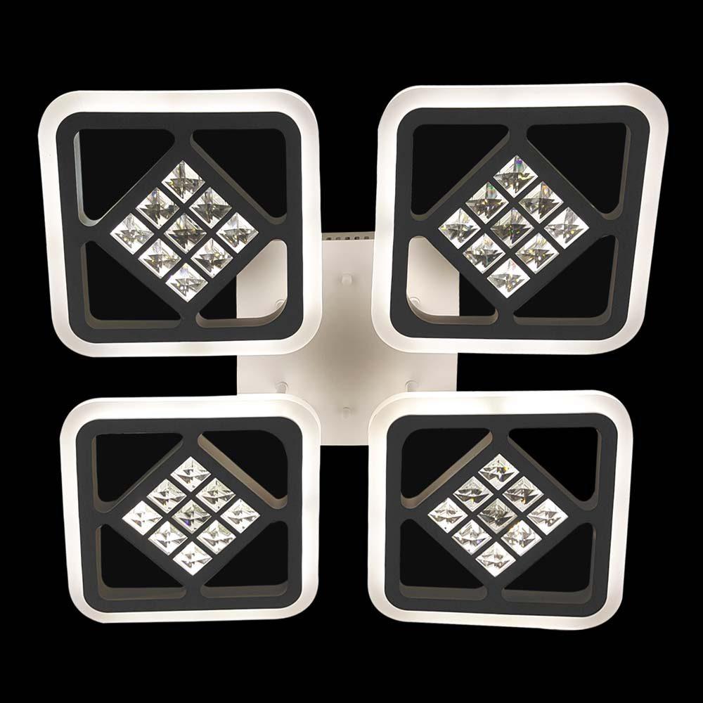 LED люстра квадратная CrossSquare-4 фото