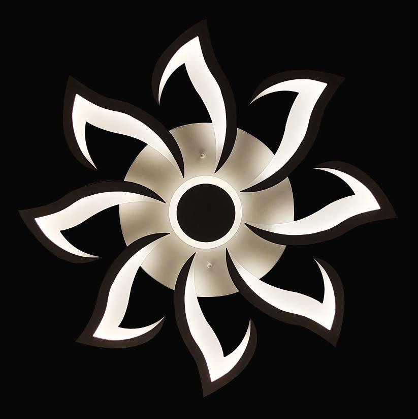 люстра светодиодная хай-тек Round Arrows фото