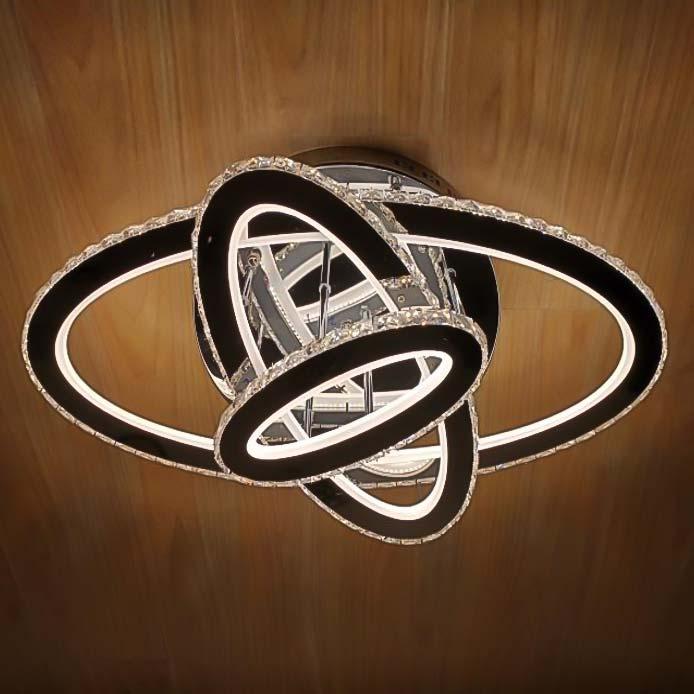 Люстра хрустальные овалы Crystal Ellipse фото