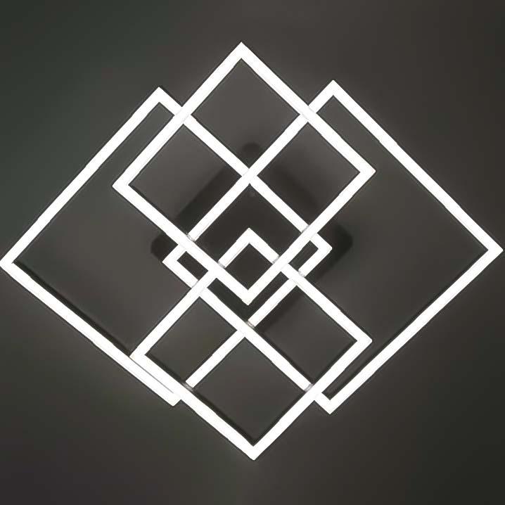 Люстра квадратная Crossquare фото