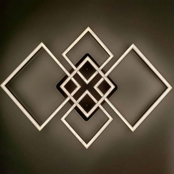 Светодиодная люстра хай-тек прямоугольная Thinkness фото