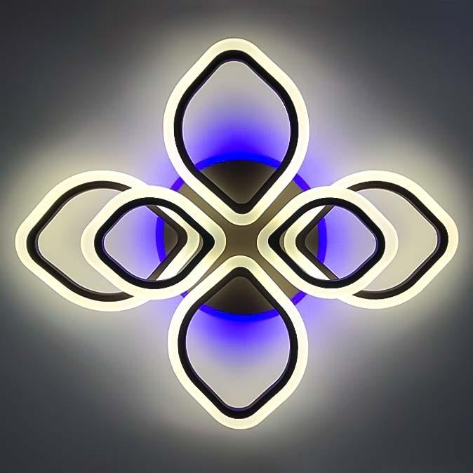 Люстра светодиодная 6 лепестков фото