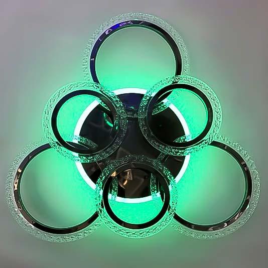 светильник с пультом круги Circles NEW фото