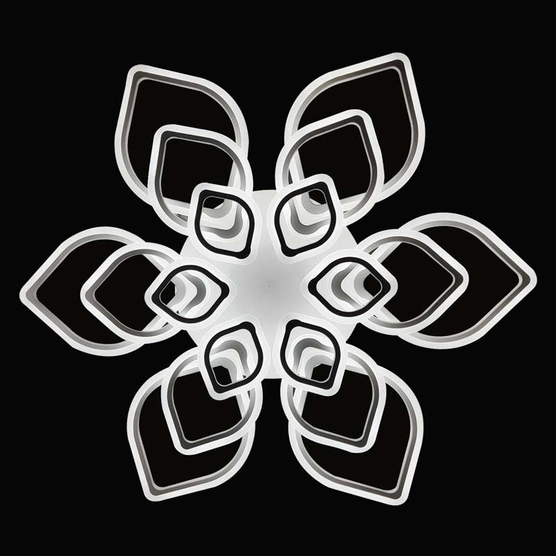 Большая LED люстра Calambius фото