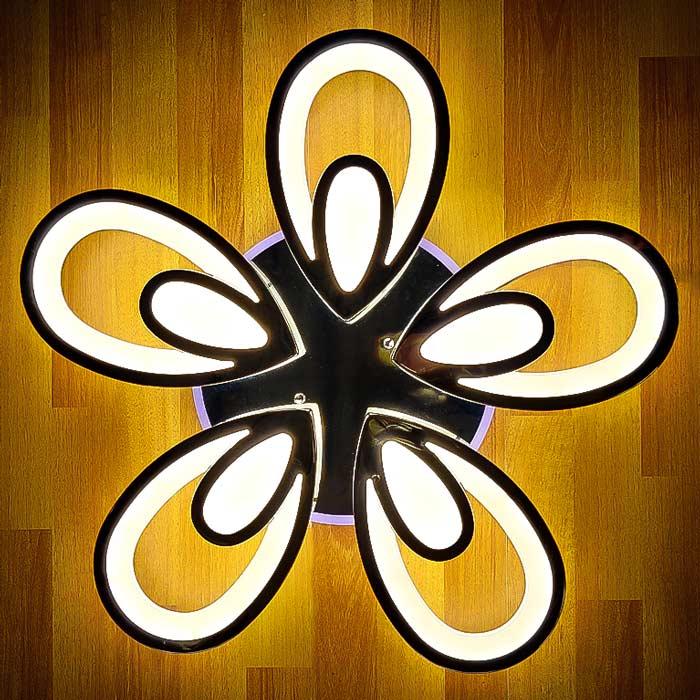 Диодный светильник цветок лепесток фото