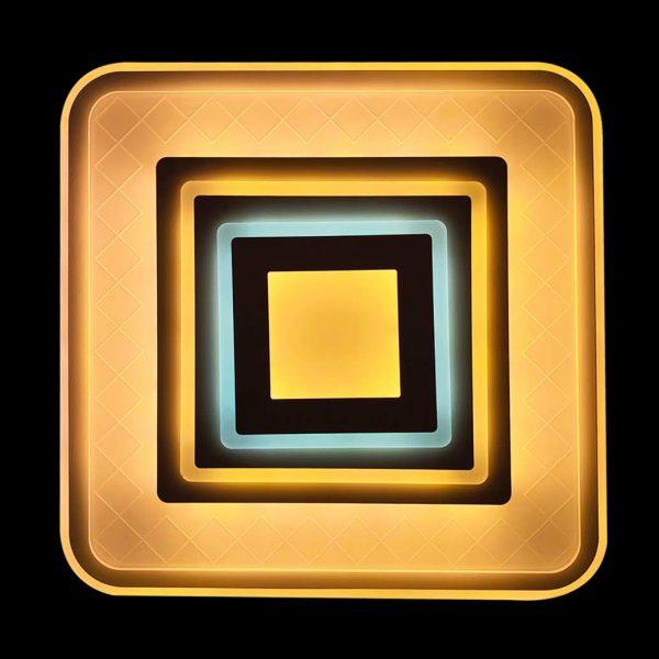 Лед люстра светодиодный квадрат фото
